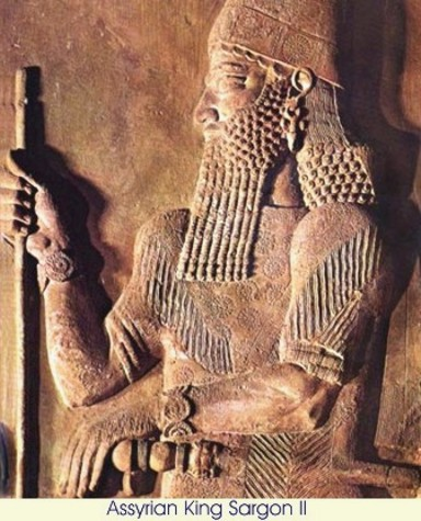 Image result for Sargon, King of Assyria