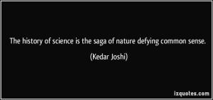 science defies common sense